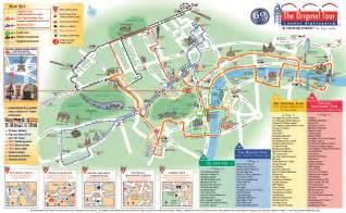 Los Angeles Hop On Hop Off Route Map by Recorrido Hop On Hop Off En Londres London