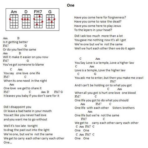 u2 one testo u2 one s 248 k u2 guitar
