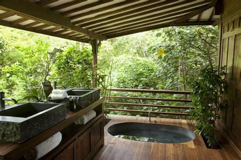 outdoor bathroom ideas outdoor spa ideas for your home inspiration and ideas