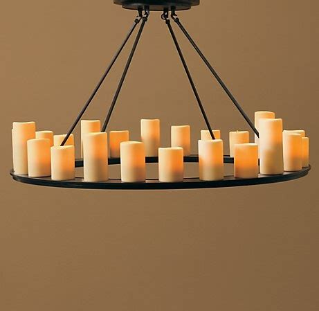 faux pillar candle chandelier lighting 1000 images about dining room on pinterest candle