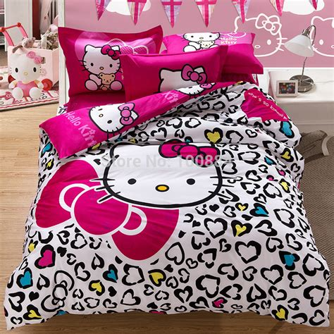 type of bed sheets king size hello kitty leopard beding mattress cover flat