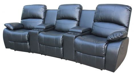 recliner leather sofa sale sofa for sale leather black recliner san vito sofas4less