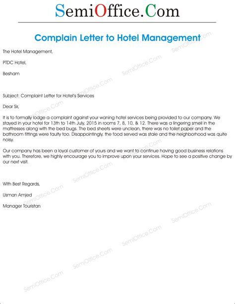 Sle Writing Apology Letter Hotel Customer customer response letter templates 28 images 14
