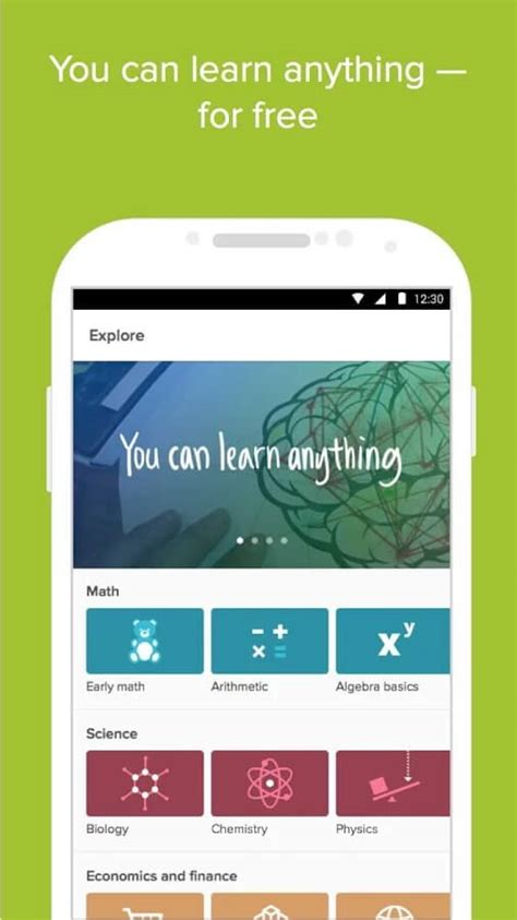 khan academy app android 10 best android apps to boost your brain free paid