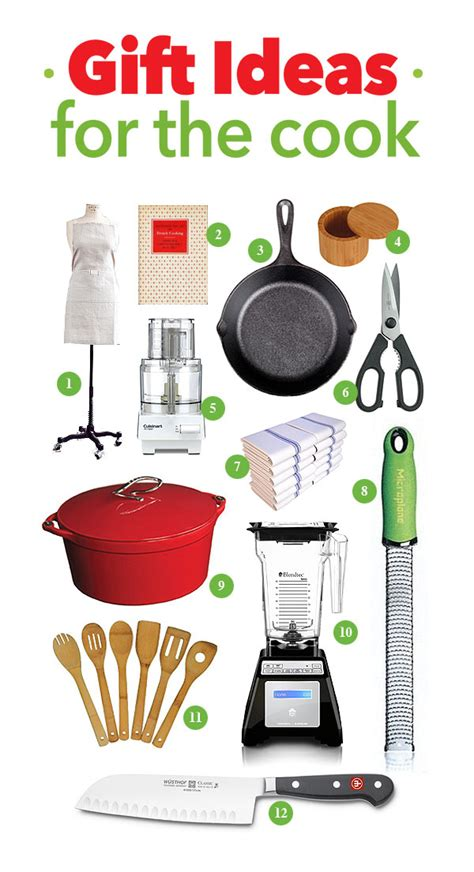 gift ideas for the cook she wears many hats