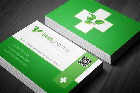 free pharmacy business card template 8 business card templates word excel pdf templates