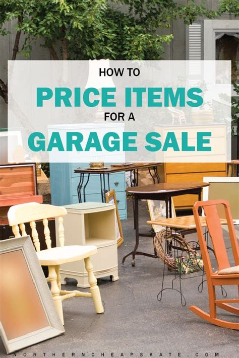 Garage Sale Pricing Best 25 Garage Sale Organization Ideas Only On