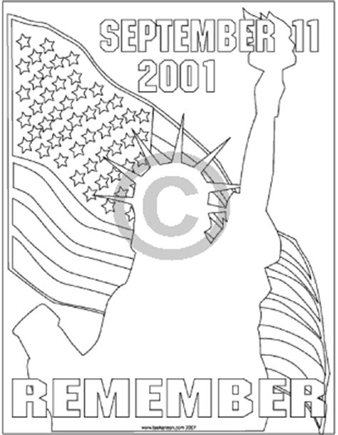 september 11th coloring pages coloring pages