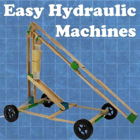 diy engineering projects easy hydraulic machines