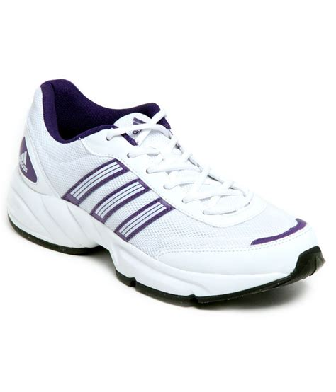 adidas white purple sports shoes price in india buy