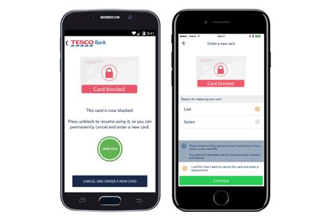 tesco bank activate card tesco mobile banking