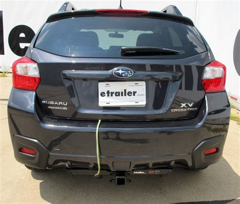 subaru crosstrek custom curt custom fit vehicle wiring for subaru xv crosstrek