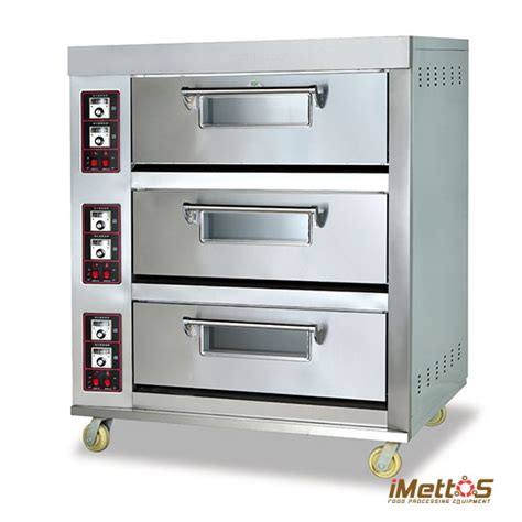 Oven Imbaco imettos commercial ovens gas baking oven arf 40h 2 layer 4 trays