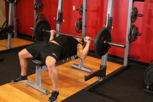 academy bench press how to bench press your guide to proper form barbell