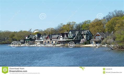 philadelphia boat houses philadelphia row houses royalty free stock photos image 24223578