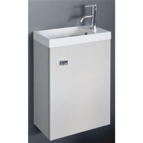 meuble lave mains blanc avec plan moul 233 mont 233 sans miroir