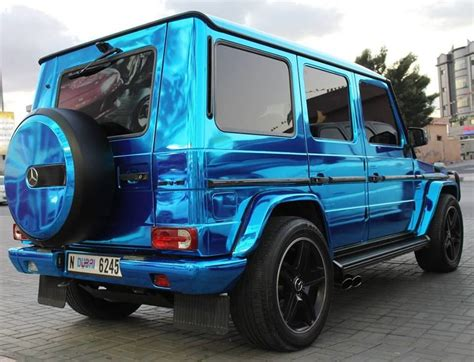 Mercedes Chrome by Chrome Blue Mercedes G63 Amg Mbworld Org Forums