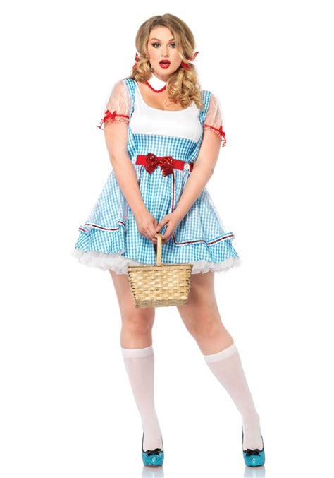 plus size deluxe dottie costume halloween costumes plus size oz beauty dorothy halloween costume