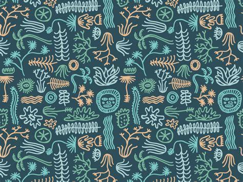 pattern maker jobs san francisco plant pattern by bret baker dribbble