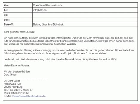 Bewerbung Email Welches Format 7 e mail bewerbung muster resignation format