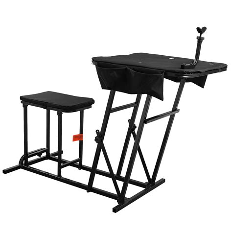 folding shooting bench shooting table bench rest rifle target range folding