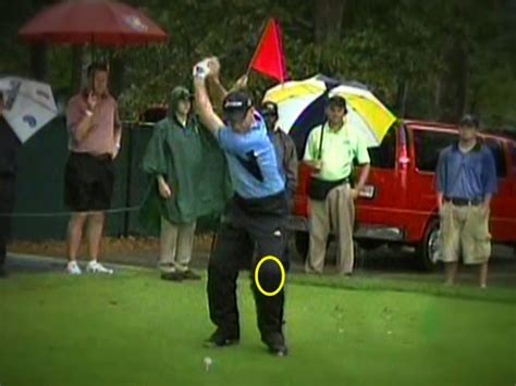 golf swing left knee action somax sports furyk wins 11 35 million with left knee