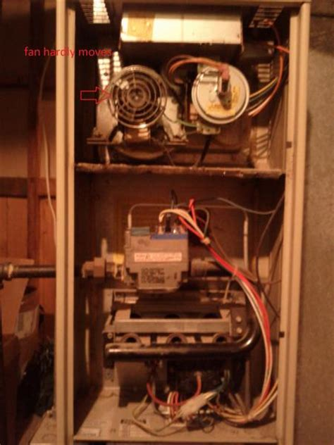 inducer fan not starting gas furnace blower motor does not turn on