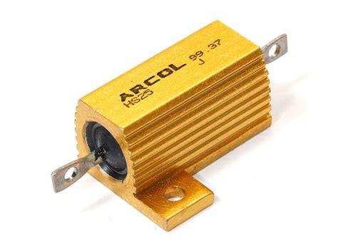 arcol resistors hs25 18k ohm 5 25w arcol hs25 aluminium clad wirewound resistor hochlast widerstand
