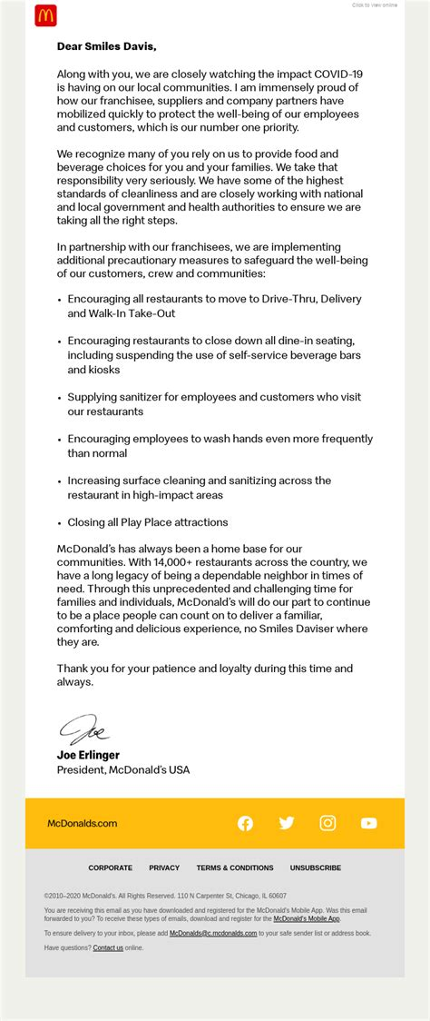 sample business closing letter employees webcasorg