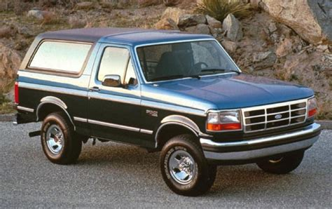 bronco mitsubishi 1992 ford bronco information and photos zombiedrive