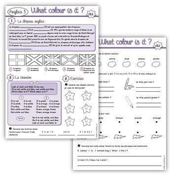 Anglais Ce2 What Colour Is It Ce2 Cm1 Pinterest