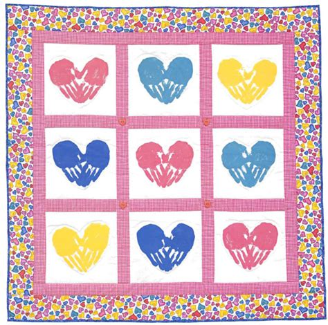 Handprint Quilt by Martingale Handprint Quilts Ebook