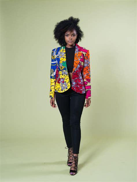 ankara blazers color mix classic blazer african couture pinterest