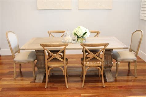 Chateau Dining Table Place Provincial Furniture And Homewares 187 Archive Quot Chateau Quot Htons Style