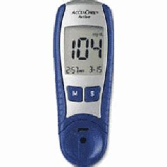 Unit Accu Chek Active accu chek active blood glucose test meter for accurate