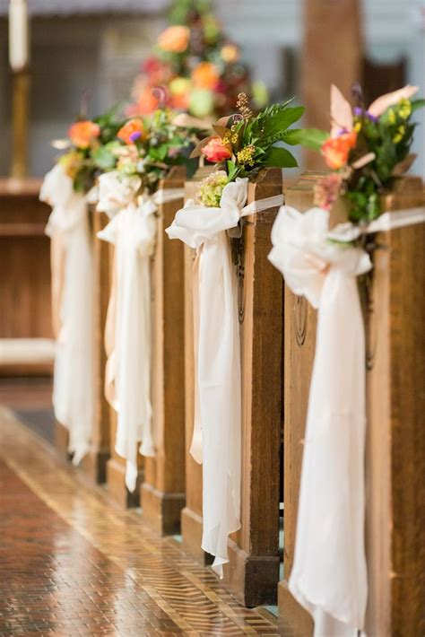 25 best ideas about wedding pew bows on