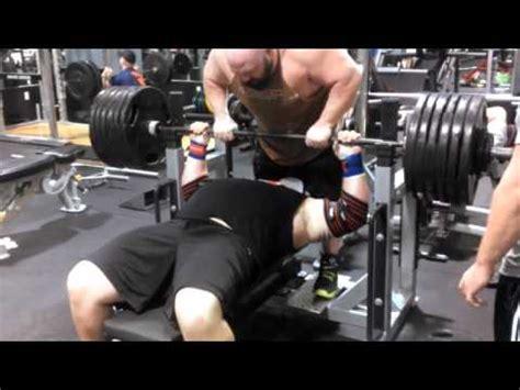 josh bryant bench press richard ficca 600 raw bench press youtube