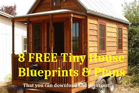 tiny house on wheels plans free tiny house plans free to download print 8 tiny house