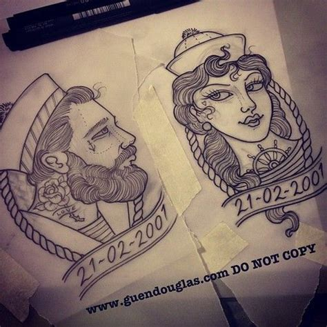 navy couple tattoos best 25 sailor tattoos ideas on navy pirate