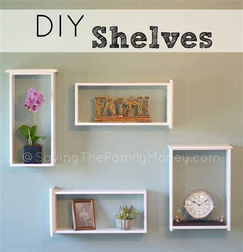 Diy Shelf Organizer by Beautiful Diy Wall Shelves Of Used Drawers