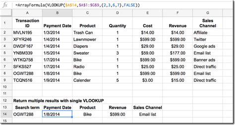vlookup tutorial from another sheet how to return multiple columns with vlookup function in