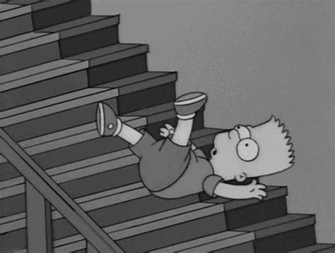 wallpaper gif simpsons black and white bart simpson gif wifflegif