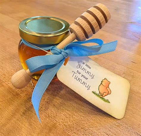 Honey Pot Favors Baby Shower by Fashioned Wooden Honey Dippers For The Drizzle