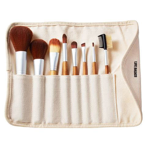 Make Up For You Brush Set basics bamboo vegan makeup brush set nourished australia