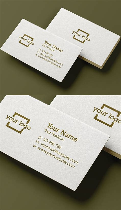 minimalist business card template psd 30 minimalistic business card designs psd templates idevie