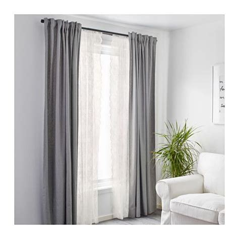 lace bedroom curtains alvine spets lace curtains 1 pair off white net