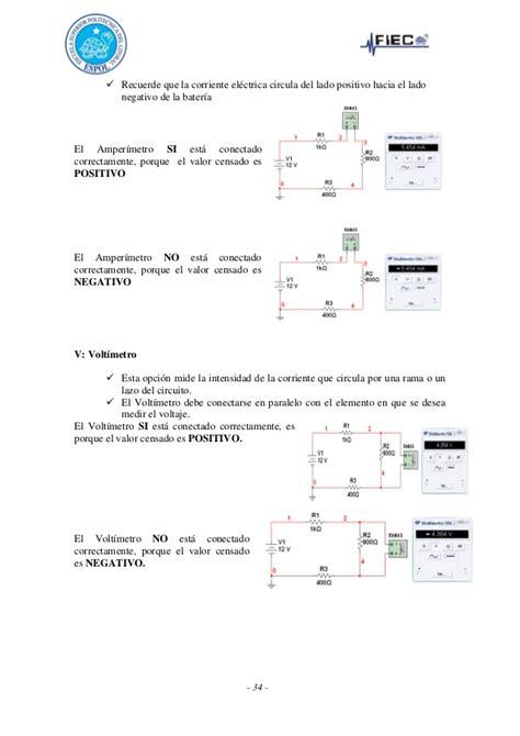 Multitester Ere gu 237 a de laboratorio de redes el 233 ctricas espol