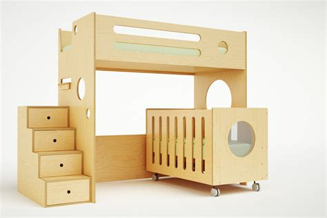 Crib Loft Bed by Marino Bunk Bed Crib Casa