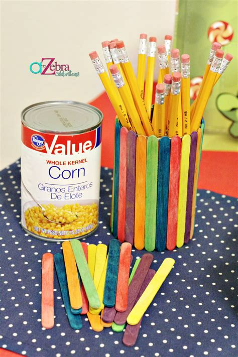 easy crafts for school back to school crafts a to zebra celebrations