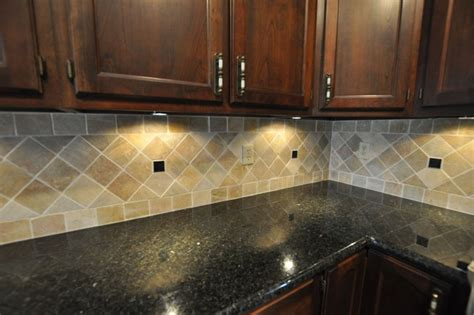 Ideas For Kitchen Backsplash With Granite Countertops Granite Countertops And Tile Backsplash Ideas Eclectic Indianapolis By Supreme Surface Inc